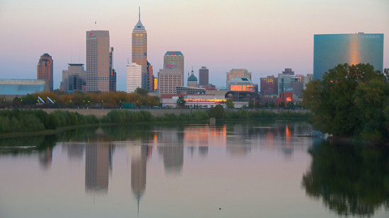 Indianapolis, Indiana - Photo: Serge Melki via Flickr, used under Creative Commons License (By 2.0)