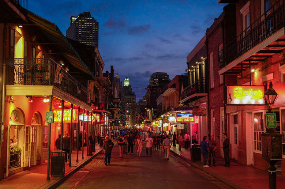 American – $152: Newark – New Orleans (and vice versa). Roundtrip, including all Taxes