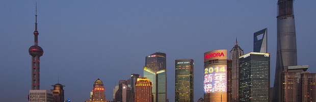 Shanghai, China - Photo: Wilson Hui via Flickr, used under Creative Commons License (By 2.0)