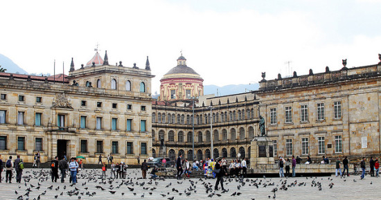 Plaza de Bolívar - Capitolio Nacional, Bogota, Colombia - Photo: Ministerio TIC Colombia via Flickr, used under Creative Commons License (By 2.0)
