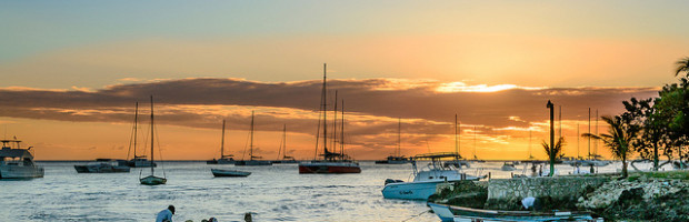 Sunset, La Romana, Dominican Republic - Photo: Andre Colin via Flickr, used under Creative Commons License (By 2.0)