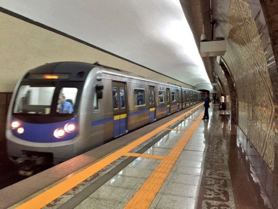 Subway in Almaty, Kazakhstan - Photo: (c) 2015 Jonathan Khoo