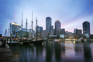 Boston Harbor - Photo: Katie Haugland via Flickr, used under Creative Commons License (By 2.0)