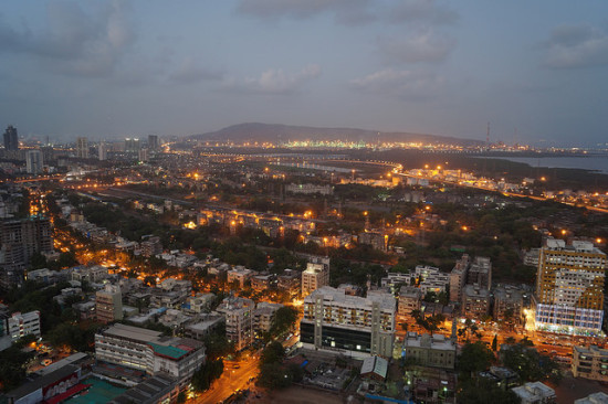 Mumbai, India - Photo: Skye Vidur via Flickr, used under Creative Commons License (By 2.0)