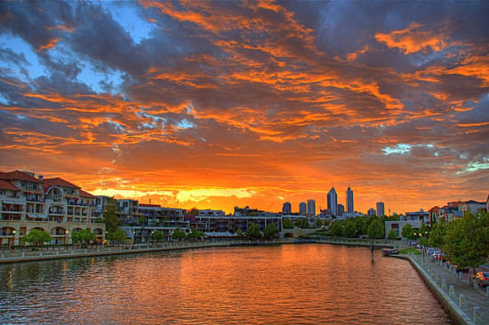 Perth, Australia- Photo: Richard Giles via Flickr, used under Creative Commons License (By 2.0)