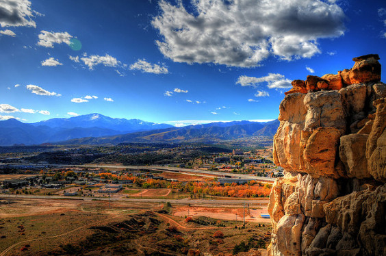 United / American – $244: Philadelphia – Colorado Springs, Colorado (and vice versa). Roundtrip, including all Taxes