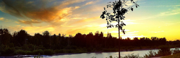 Clark River, Missoula, Montana - Photo: Wesley Fryer, used under Creative Commons License (By 2.0)