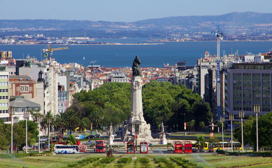 Marquess of Pombal Square, Lisbon, Portugal - Photo: দেবর্ষি রায় via Flickr, used under Creative Commons License (By 2.0)