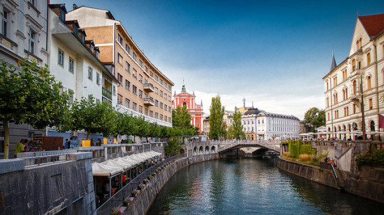 Ljubljana, Slovenia - Photo: Gilad Rom via Flickr, used under Creative Commons License (By 2.0)