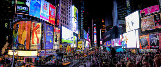 Times Square, New York - Photo: Curimedia | P H O T O G R A P H Y via Flickr, used under Creative Commons License (By 2.0)
