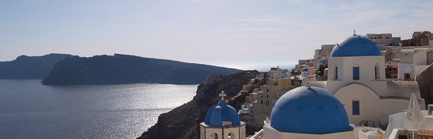 Santorini, Greece - Photo: Maggie Meng via Flickr, used under Creative Commons License (By 2.0)