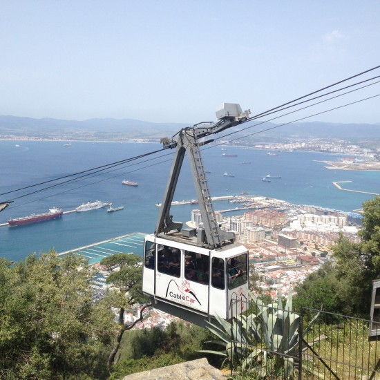 Cable Car, Gibraltar - Photo: (c) 2016 - Erin Southerland of Don't Forget to Eat