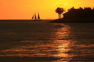 Sunset, Key West, Florida - Photo: gabe popa via Flickr, used under Creative Commons License (By 2.0)