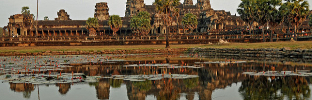 Angkor Wat, Siem Reap, Cambodia - Photo: Dennis Jarvis via Flickr, used under Creative Commons License (By 2.0)