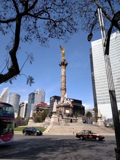 The Angel of Independence on Paseo de Reforma - Photo: (c) 2016 - Justin Crawford