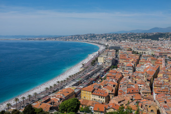 Nice, France- Photo: Kristoffer Trolle via Flickr, used under Creative Commons License (By 2.0)