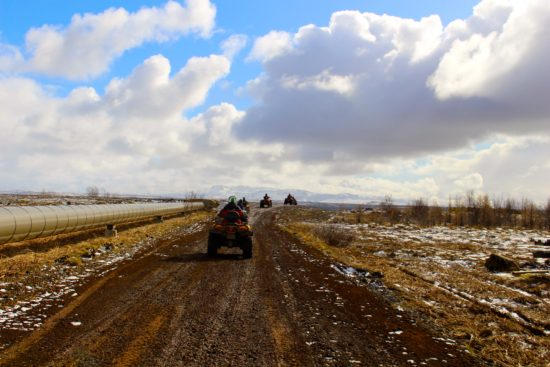 ATV Mountain Safari in Iceland - Photo: Gary Bushrod of CatchGifUcan, All right reserved