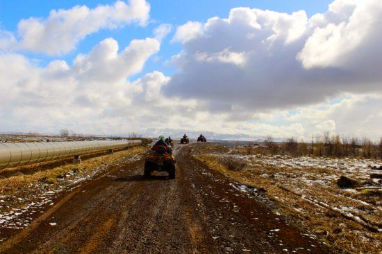 ATV Mountain Safari in Iceland - Photo: Gary Bushrod of CatchGifUcan, All right reserved