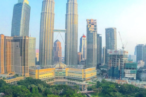 View from Hotel, Kuala Lumpur, Malaysia - Photo: (c) 2016 - Dave Boerner