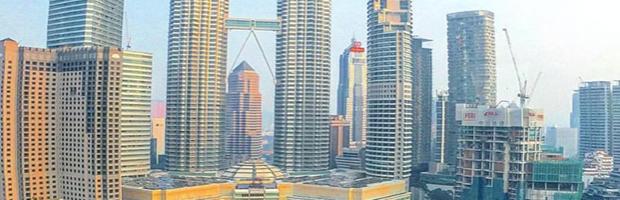 View from Hotel, Kuala Lumpur, Malaysia - Photo: (c) 2016 - Dave Boerner