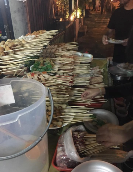 Street hawker food, Kuala Lumpur, Malaysia - Photo: (c) 2016 - Dave Boerner