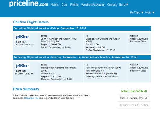 The Flight Deal | jetBlue – $296: New York – Oakland ...