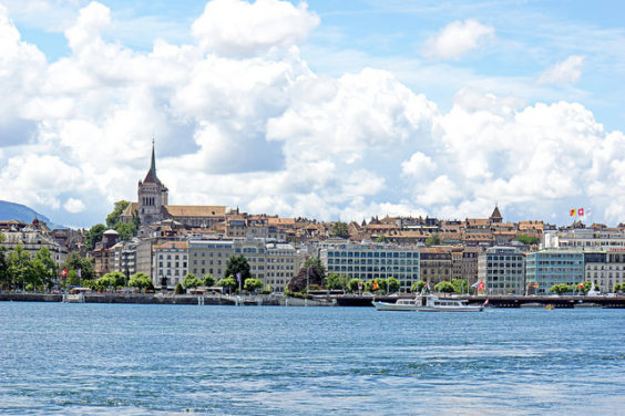 American – $444: Philadelphia – Geneva, Switzerland. Roundtrip, including all Taxes