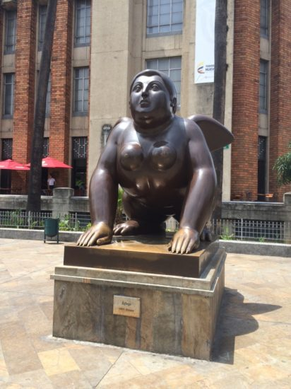 One of Botero's pieces that can be found in Parque Botero, Medellin, Colombia - Photo: (c) 2016 - Varud Gupta of Bicoastal Cooks