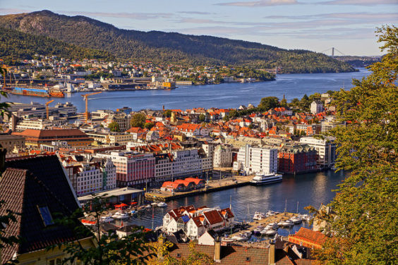 Delta – $402: Boston – Bergen, Norway. Roundtrip, including all Taxes