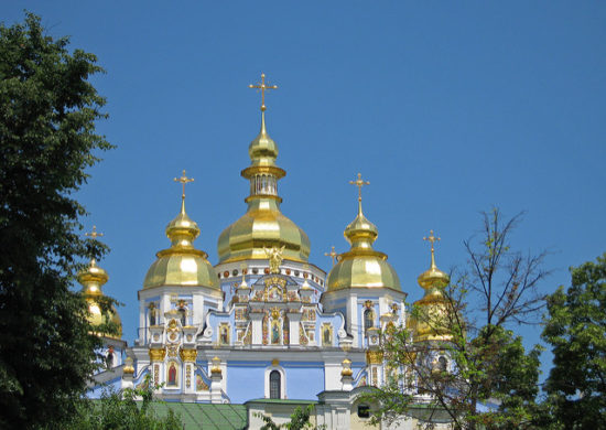 St Michael's Monastery, Kiev, Ukraine - Photo: neiljs via Flickr, used under Creative Commons License (By 2.0)