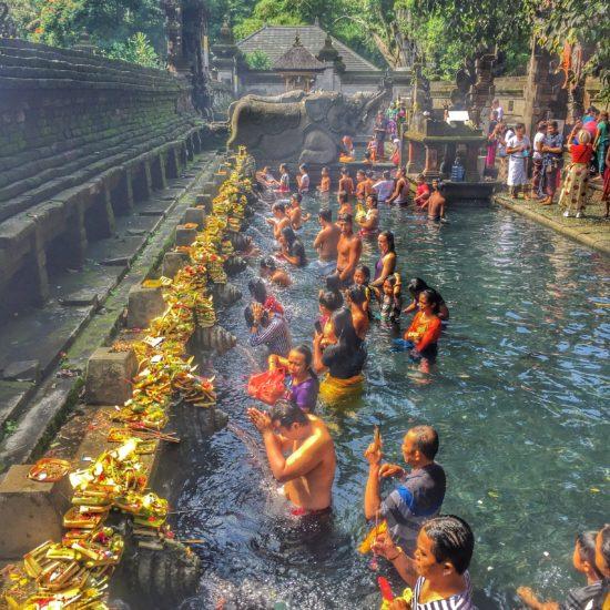 Pura Tirtha Empul, Bali, Indonesia - Photo: (C) Kiran Iqbal of WanderlustCrave.com