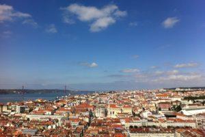 View of Lisbon from Sao Jorge Castle, Lisbon, Portugal - Photo: (c) 2016 - Varud Gupta of Bicoastal Cooks