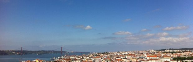 View of Lisbon from Sao Jorge Castle, Lisbon, Portugal - Photo: (c) 2016 - Varud Gupta of Bicoastal Cooks