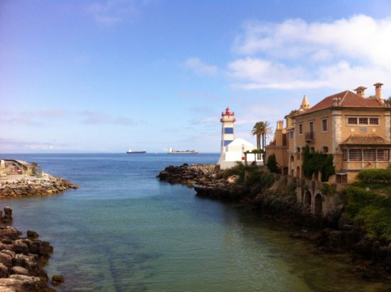 The view from Cascais, Portugal - Photo: (c) 2016 - Varud Gupta of Bicoastal Cooks