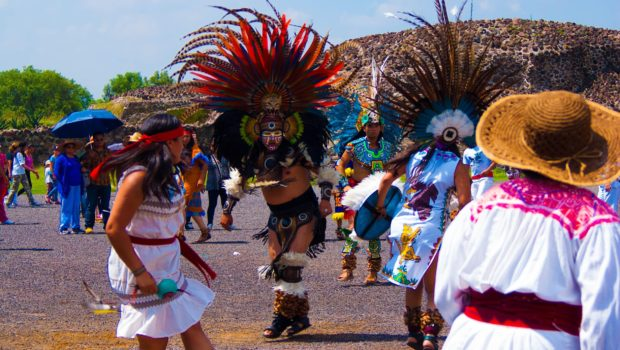 Traditional Dancers, Teotihuacan, Outside of Mexico City, Mexico - Photo: Prasanna Chandrasekhar of imported from _baltimore, All Rights Reserved