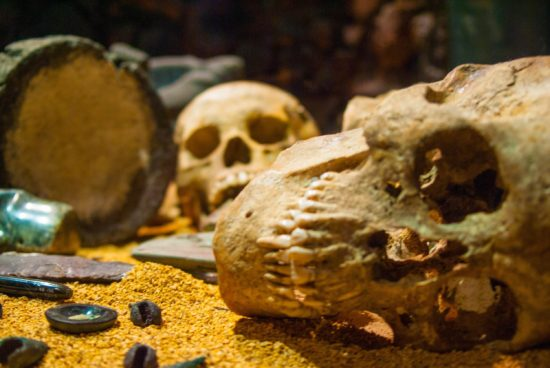 Crypt, Templo Mayor Museum, Mexico City, Mexico - Photo: Prasanna Chandrasekhar of imported from _baltimore, All Rights Reserved