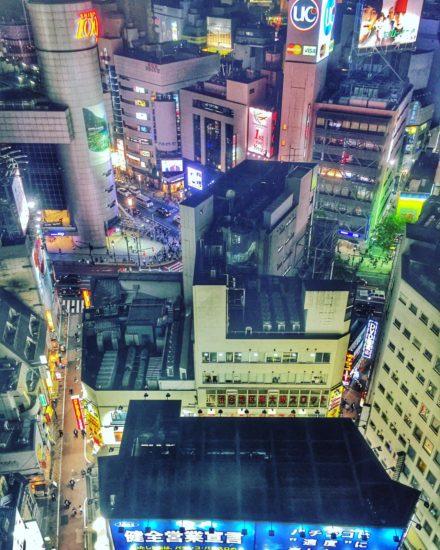 Shibuya at Night, Tokyo, Japan - Photo: (C) Kiran Iqbal of WanderlustCrave.com