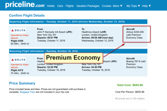 The Flight Deal | [FARE GONE] Premium Economy – Delta