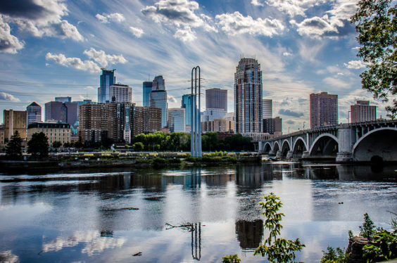 Southwest: Portland – Minneapolis (and vice versa). $178. Roundtrip, including all Taxes