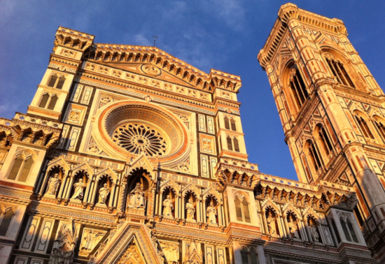 (The famous Duomo, one of my favorite buildings in the world, Florence, Italy- Photo: (c) 2016 - Varud Gupta of Bicoastal Cooks