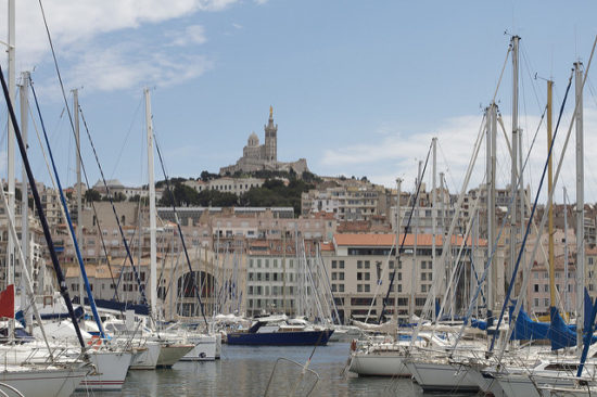 Harbor, Marseille, France - Photo: Rob Taylor via Flickr, used under Creative Commons License (By 2.0)