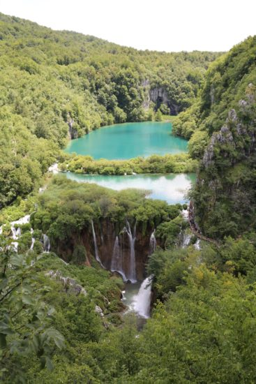 "The ""secret"" overview spot at the park, Plitvice Lakes, Croatia - Photo: (c) Rom Brafman"