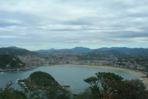 View of San Sebastián from the top of Monte Igueldo , San Sebastian, Spain - Photo: (c) 2016 - Dan Cruse