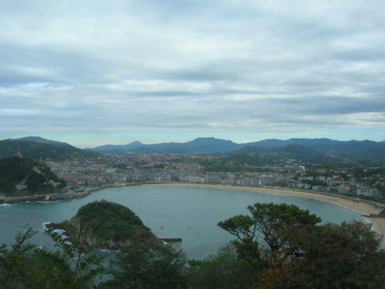 View of San Sebastián from the top of Monte Igueldo , San Sebastian, Spain - Photo: (c) 2016 - Dan Cruse