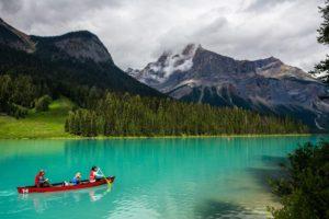 Emerald Lake, Yoho National Park, Alberta, Canada - Photo: (c) 2016 - Stephen Tang & Alyssa Kim of Eats Abroad