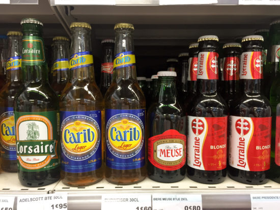 Beer at Carrefour, Guadeloupe - Photo: (c) 2016 - Cynthia Drescher