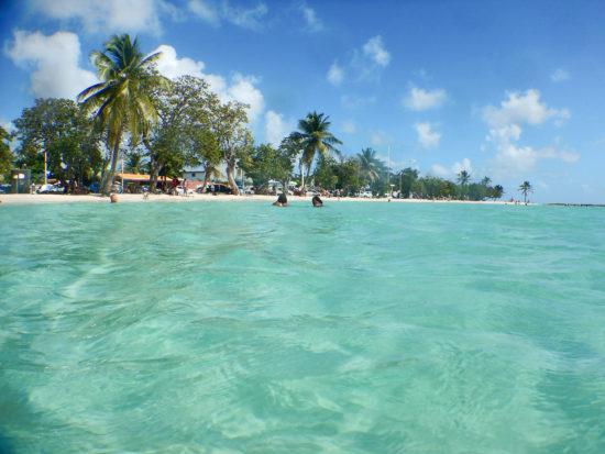 Plage du Bourg de Sainte-Anne, Guadeloupe - Photo: (c) 2016 - Cynthia Drescher
