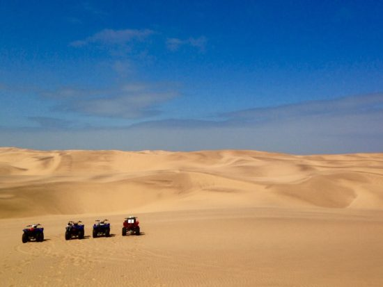 ATVs in the sand dunes next to Swakopmund, Namibia - Photo: (c) 2016 - Jennifer Wong of From Mississippi with Love