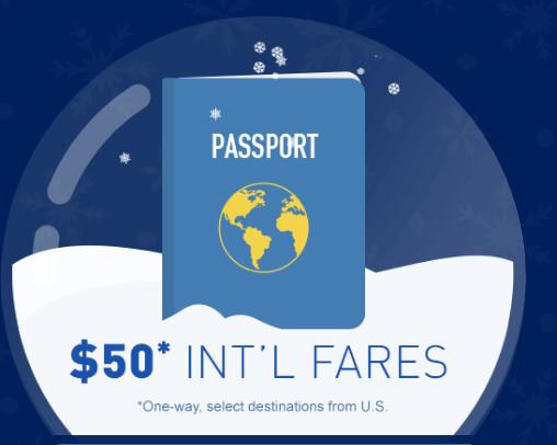 jetBlue – $50 ONE-WAY: Boston / Fort Lauderdale / New York / Orlando – Aruba / Bahamas / Bermuda / Turks and Caicos / Trinidad and Tobago / Colombia.