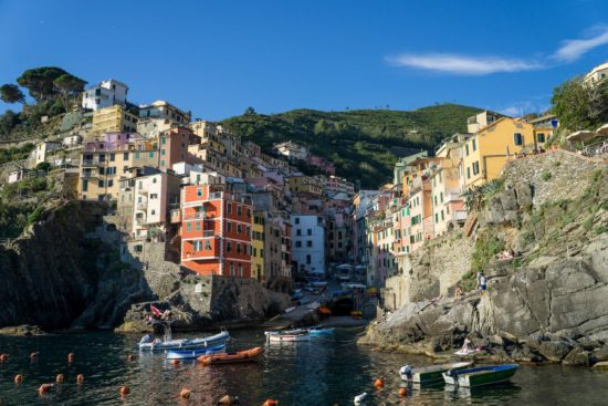 Riomaggiore, Cinque Terre, Italy.- Photo: (c) Adam Smith